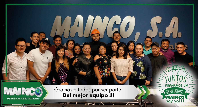imagen 0 galeria Juntos formamos un gran equipo MAINCO soy yo !!!