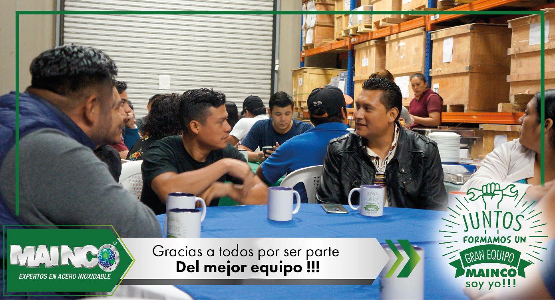 imagen 1 galeria Juntos formamos un gran equipo MAINCO soy yo !!!