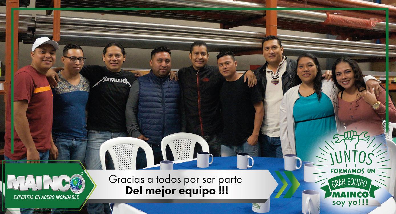 imagen 11 galeria Juntos formamos un gran equipo MAINCO soy yo !!!