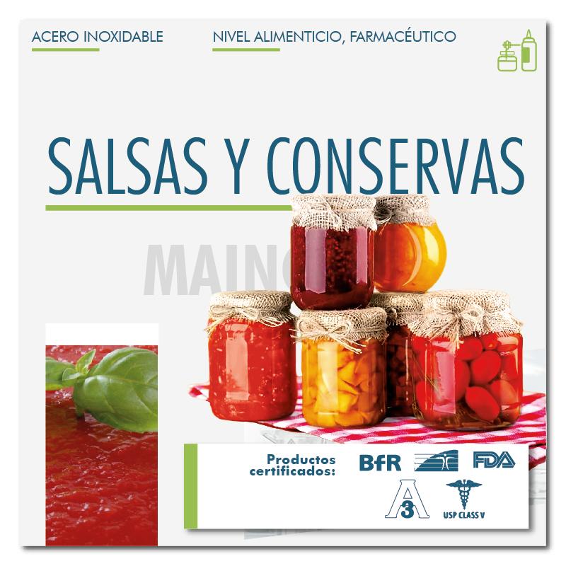 Salsas y Conservas
