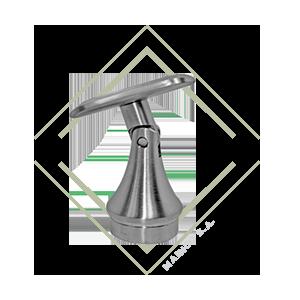 base, pared, tubo, flexible, acero, inox, guatemala, mainco, redonda, vertical, horizontal