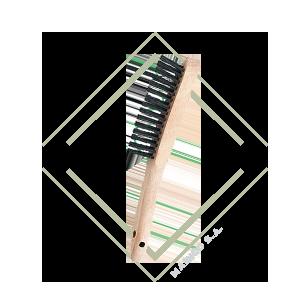 cepillo, manual, acero, limpieza, metal, hierro, ferroso, oxido, pintura, mainco, pferd, calidad, premium, aleman