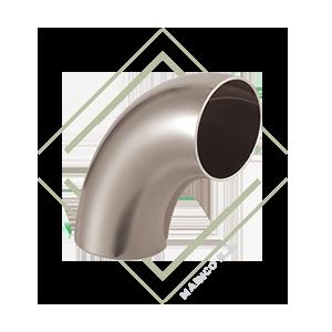 codo acero inoxidable, codo 90°, codo 90 grados, vuelta para tubo, codo inoxidable, codo acero