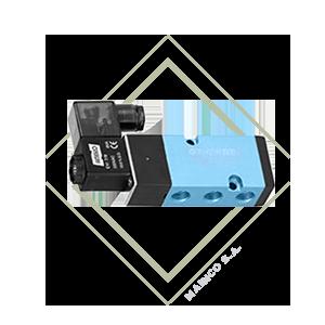 electrovalvula, solenoide, 5/2, 5 vias, genebre, actuador, mainco, plc, automatizacion