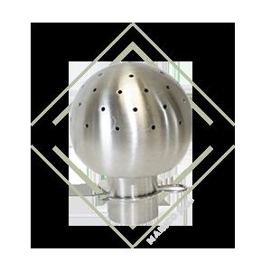 esferas para limpieza de tanques, spray ball para tanques, limpieza por esferas acero inoxidable, bolas para limpieza de tanques acero inox