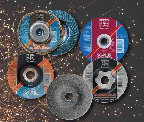 disco, desbaste, pulido, pulir, acero ,metal, inox. inoxidable, abrasivo, pferd, mainco, guatemala, el mejor, aleman, calidad,