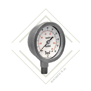 manometro, pfp, industrial, inox, winters, guatemala, mainco, presion, psi, inoxidable, acero, proceso, stabilizador, stabilizr, antivibracion, vibrac