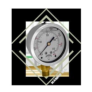 manometro pfq acero inoxidable para presion, manometro para medir presion acero laton bronce.