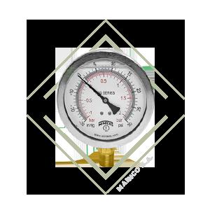 manometro, vacuometro, psi, hg, presion vacio, manovacuometro, pfq, acero, inox, bronce