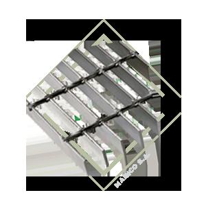 lamina tipo rejilla acero inoxidable para escaleras, lamina antideslizante ss304, lamina para caminamientos stainless steel