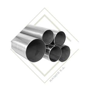 tubo, acero inox, acero inoxidable, decorativo, guatemala, mainco, pasamanos, redondo, estructural, arquitectonico,
