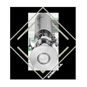 valvula dcx3, t, valvula diversora, valvula acero inox, valvula acero inoxidable, valvula para alimentos, funcionamiento