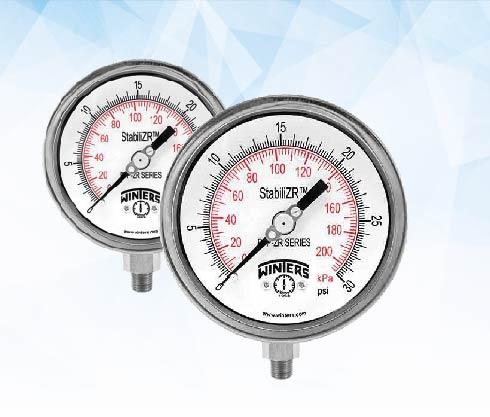 manometro, pfq, pfq, stabilizer, winters, mainco, acero, inox, inoxidable, bronce, presion, psi, agua, aire